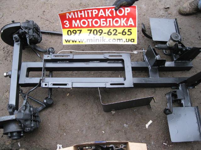 Чертежи переделки мотоблока в минитрактор своими руками